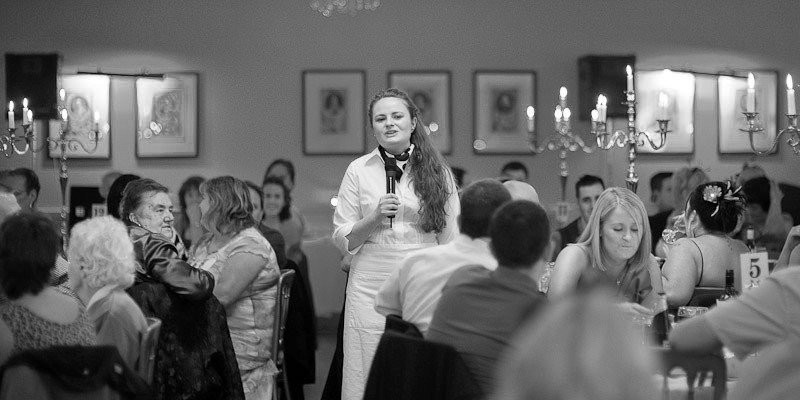 Three Waiter Undercover Opera Singers