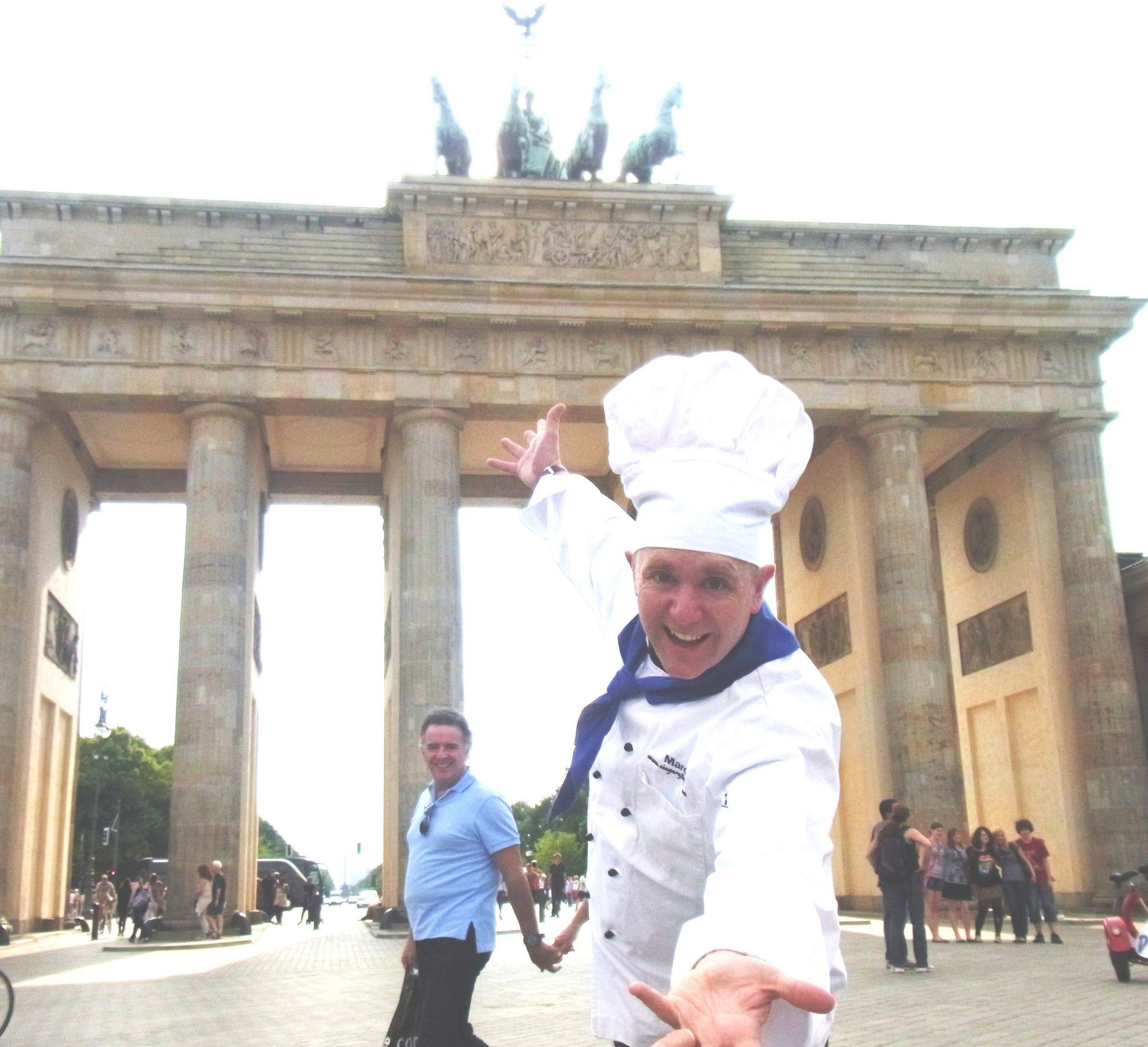 Marco the singing chef in Berlin, Germany