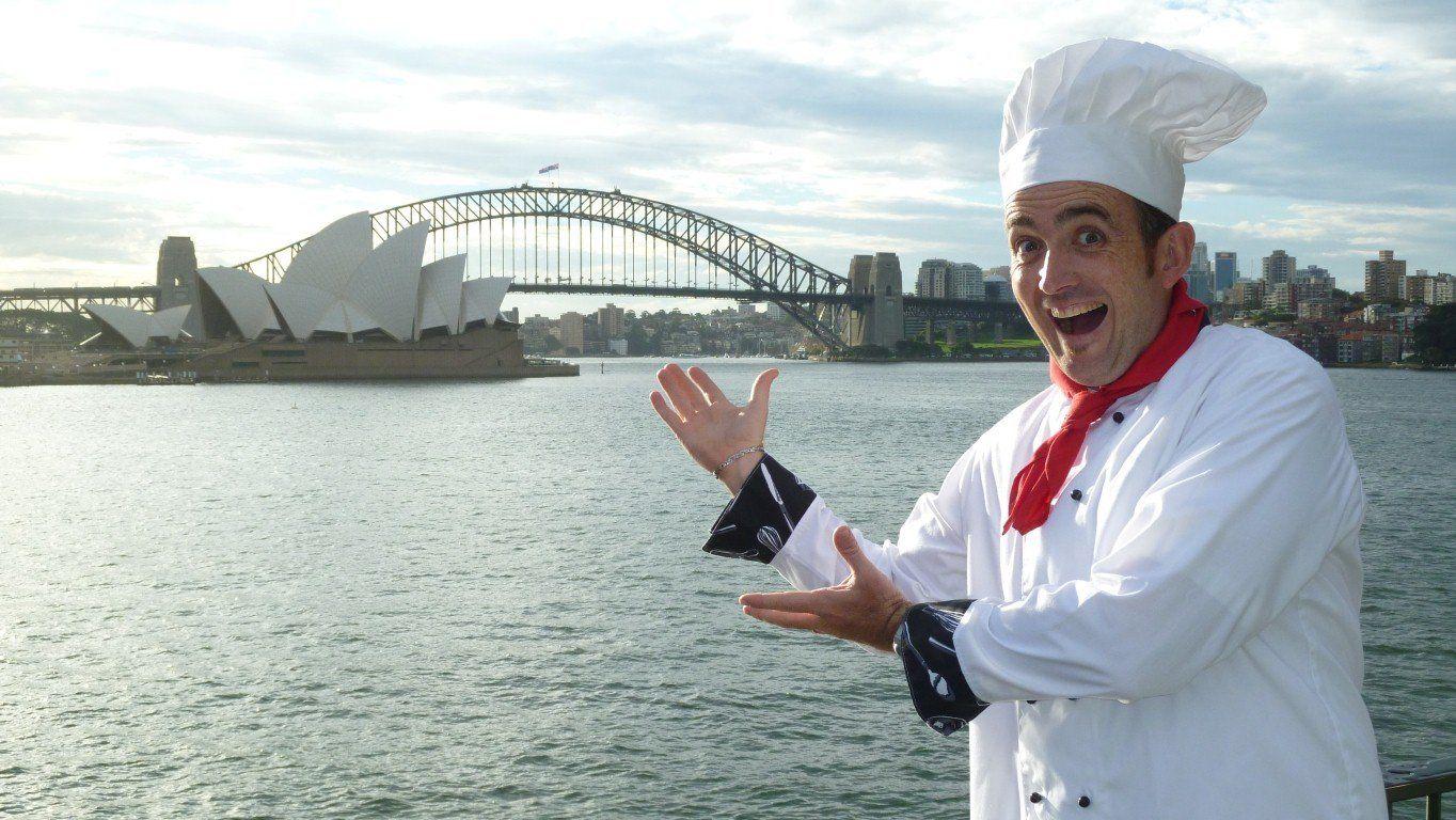 sydney singing chef
