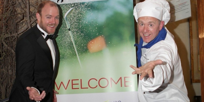 Singing Waiters and Chef Marco in Luxembourg and Abu Dhabi