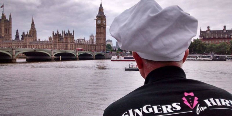 Singing Waiters London and South East England