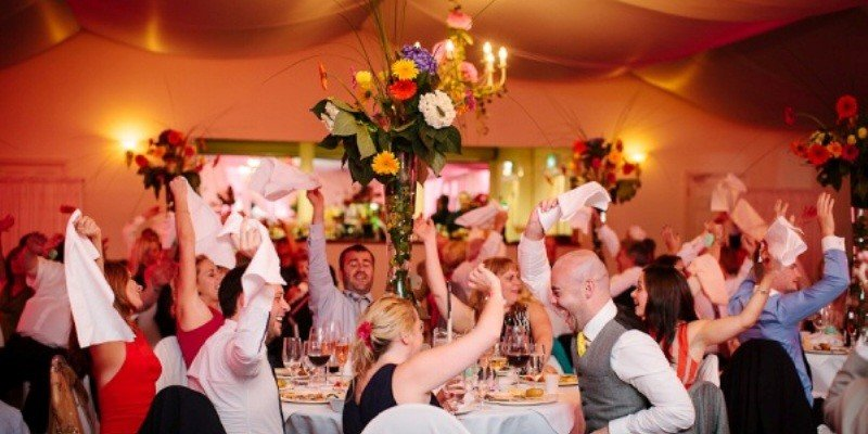 Amazing wedding Singing Waiters Ireland