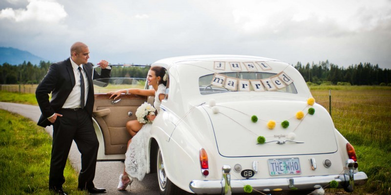 Ideas for your wedding day transportation