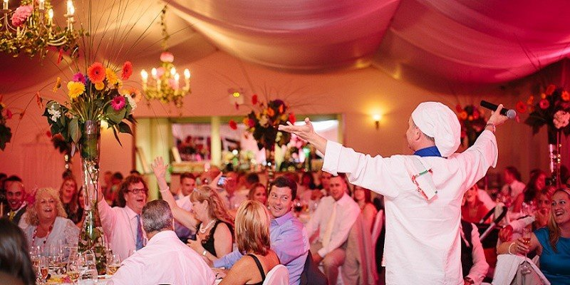 Singing chef Ireland Weddings