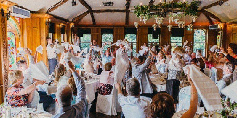 book singing waiters